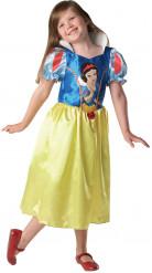 Schneewittchen Disney Märchenkostüm Kinderkostüm blau-rot