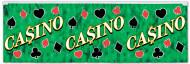 Party Banner Casino bunt 120x36cm
