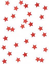 Sterne Konfetti Party-Deko rot 14g
