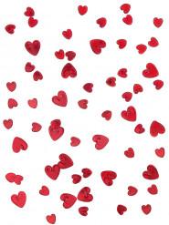 Herz-Konfetti Valentinstag-Deko rot 14g