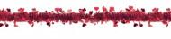 Herzgirlande Valentinstag-Deko rot