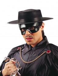 Gangster-Hut Zylinder schwarz