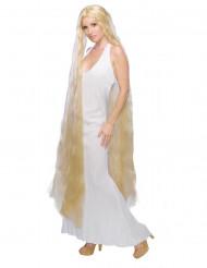 Blonde Langhaarperücke für Damen