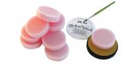 Schwämme Make-Up-Zubehör 10 Stück 1,5 cm rosa