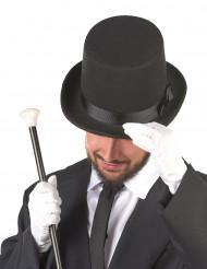 Gentleman Zylinder schwarz