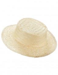 Strohut Fischer-Hut beige