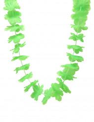 Hawaii Kette Partyschmuck grün