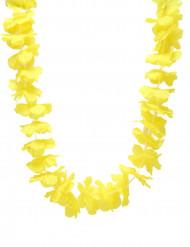 Hawaii-Blumenkette Blumen-Halskette gelb