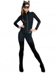 Catwoman™-Lizenzkostüm DC-Damenkostüm Catsuit schwarz
