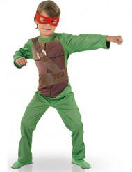 Ninja-Turtle-Lizenzkostüm Schildkröten-Kinderkostüm grün-braun