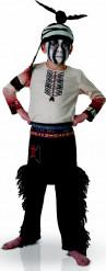 The Lone Ranger Tonto Kinder Kostüm Lizenzware braun-weiss-schwarz