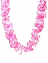 Hawaii Blumenkette Kostüm-Accessoire rosa