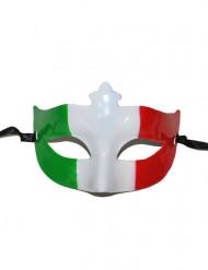 Italien-Augenmaske Länder-Fanartikel grün-weiss-rot