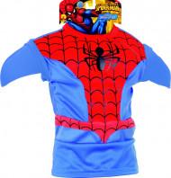 Spiderman Superheld Comic Kinderkostüm Set blau-rot-schwarz