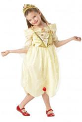 Zauberhaftes Belle™-Kinderkostüm Disney-Prinzessin