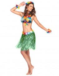Damen-Minirock Kostümzubehör grün