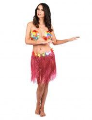 Hawaii Rock Bastrock Kostüm-Zubehör pink-bunt