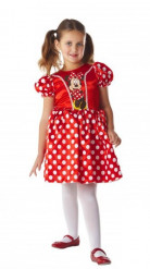 Minnie Maus™-Kinderkostüm Disney-Mädchenkostüm