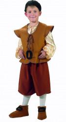 Mittelalter-Bauern-Kostüm, Jungen braun