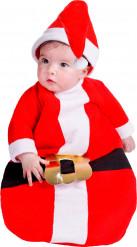 Weihnachtsmann-Babykostüm