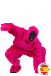 Gorilla Overall Kostüm schwarz-pink