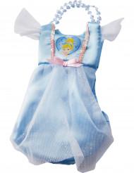 Cinderella-Kleidtasche Disney-Lizenzartikel blau-weiss