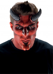 Teufel Make Up Set Halloween Schminke schwarz rot