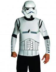Star Wars Stormtrooper Kostüm Set Lizenzware weiss-schwarz