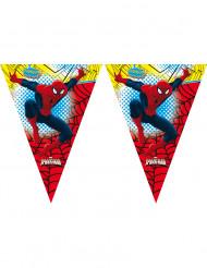 Wimpel-Girlande Spiderman Lizenzprodukt bunt