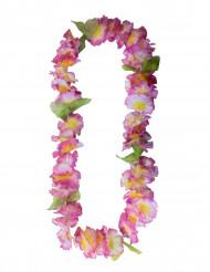 Hawaii-Kette Blumenkette Kostümaccessoire bunt
