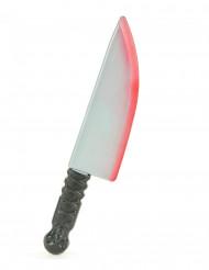 Blutiges Messer grau-schwarz 48cm