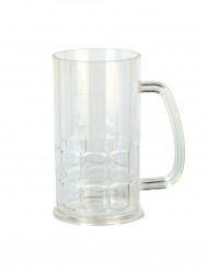 Kunststoff-Bierkrug Bierglas transparent 400ml
