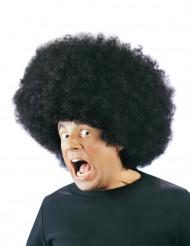Afro Perücke schwarz
