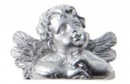 Engel Tischkarten-Halter 4 Stück silber