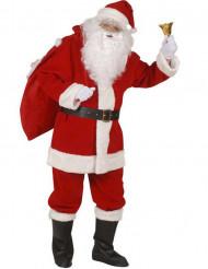 Weihnachtsmann-Erwachsenenkostüm Nikolaus rot-weiß