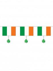 Flaggen-Girlande Kleeblätter Saint Patrick
