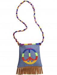 Hippie-Handtasche für Erwachsene bunt