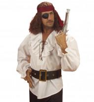 Piratengürtel für Erwachsene schwarz