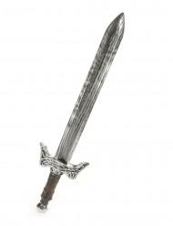 Ritterschwert Kostümaccessoire Mittelalter silber 67cm
