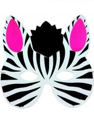 Maske Zebra für Kinder
