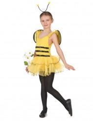 Süßes Bienchen Kinderkostüm gelb-schwarz