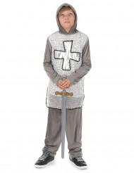 Ritter Kinder-Kostüm grau-silber