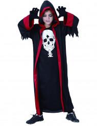 Diabolischer Kultist Halloween-Kinderkostüm schwarz-rot-weiss