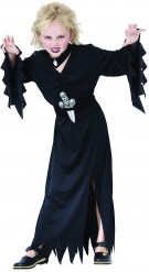 Fürstin der Finsternis Kinderkostüm schwarz