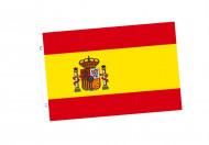 Spanische Fahne Fussball-Fanartikel rot-gelb 90 x 150cm