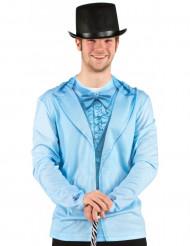T-Shirt Anzugjacke für Herren blau
