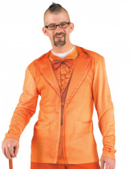 T-Shirt Anzugjacke für Herren orange