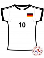 Wanddeko Trikot Deutschland Fussball schwarz-rot-gold