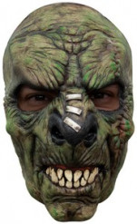 Labor-Monster Halloween-Maske grün
