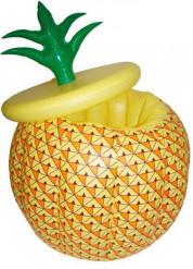 Aufblasbare Ananas Getränke-Kühler gelb-orange-grün 70 cm